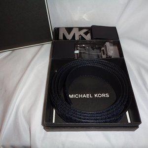 Michael Kors 4 In 1 Belt Box Set MK Logo Men's